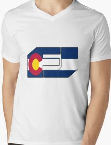 fj colorado  Mens V-Neck T-Shirt