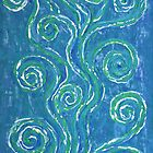 Zen Whirlpools - a representation of life. by Lisa Frances Judd ~ QuirkyHappyArt