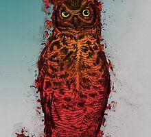 Great Horned Owl by BawbeeRok