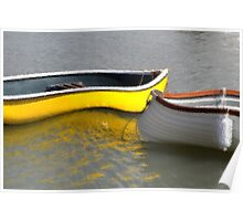 Abstract  Boating Poster