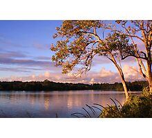 tweed river... Photographic Print