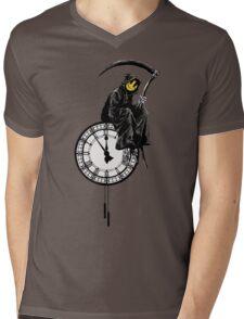 banksy - grin reaper Mens V-Neck T-Shirt