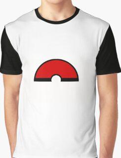 Pokemon - Pokeball WHITE Red Graphic T-Shirt