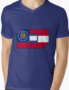 Fj Georgia Mens V-Neck T-Shirt