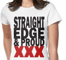 Edge and Proud Womens Fitted T-Shirt