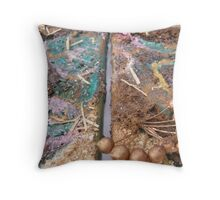 BUTTERFLY ~ 60 FREEDOM OUT Throw Pillow