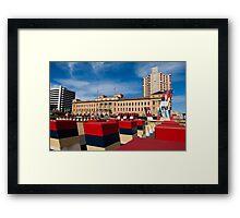 Adelaide Urban Garden Framed Print