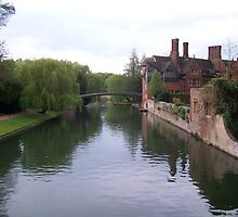 The River Cam by Potz