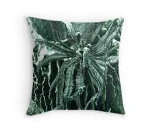 BARREL CASKET & CRINOID Throw Pillow