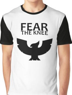 Smash Bros. - Fear The Knee Graphic T-Shirt