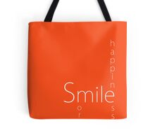 Happiness - Smile More Tote Bag