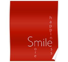 Happiness - Smile More Poster