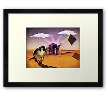 Egyptian Gate Framed Print