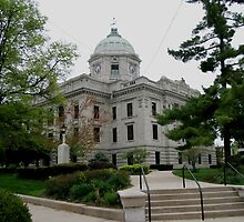 Courthouse Bloomington Indiana by ken2086