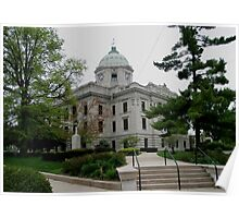 Courthouse Bloomington Indiana Poster