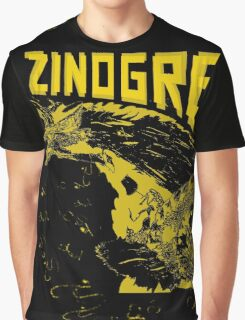 Monster Hunter- Zinogre Roar Design Yellow Graphic T-Shirt