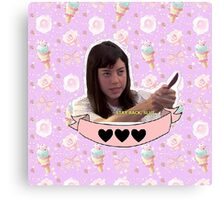 April Ludgate - Parks and Recreation Canvas Print