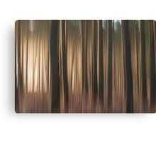 Forest Abstract 11 Canvas Print
