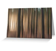 Forest Abstract 11 Greeting Card