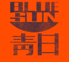 Blue Sun Vintage Style Shirt (Firefly/Serenity) Kids Tee