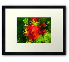 Abstract Polygons 10 Framed Print