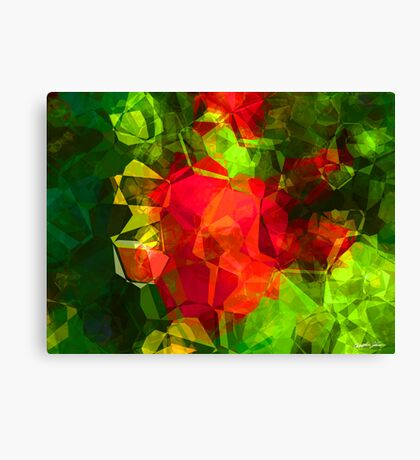 Abstract Polygons 10 Canvas Print