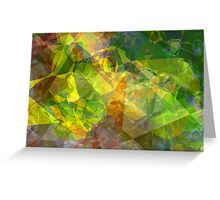 Abstract Polygons 11 Greeting Card