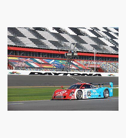 Juan Pablo Montoya at Daytona Photographic Print