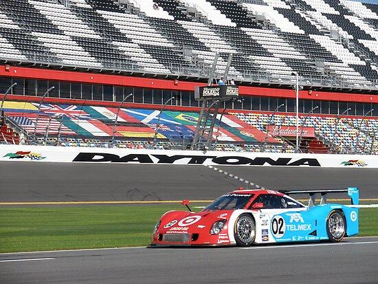 Juan Pablo Montoya at Daytona by DanaSchultz