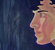 Benedict Cumberbatch by Jamie McCall