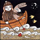 Harriets Seafaring Hare by Anita Inverarity