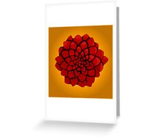 Rose of the desert Greeting Card