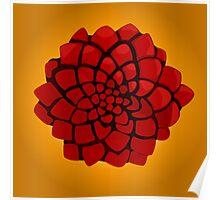 Rose of the desert Poster