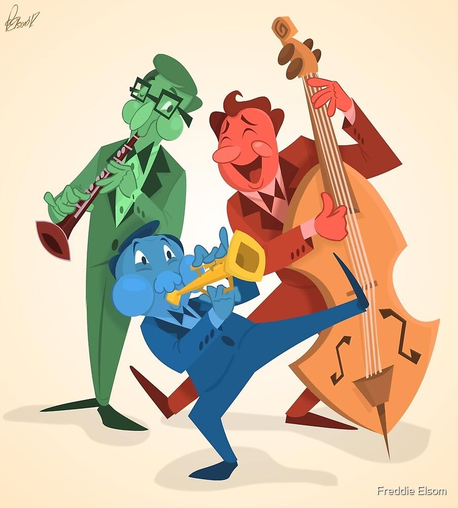 Jazz Trio by Freddie Elsom
