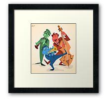Jazz Trio Framed Print