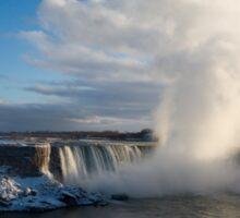 Niagara Falls Makes Its Own Weather Sticker