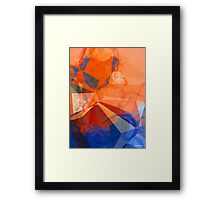 Abstract Polygons 30 Framed Print