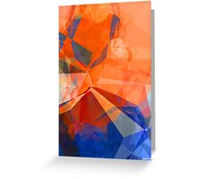 Abstract Polygons 30 Greeting Card