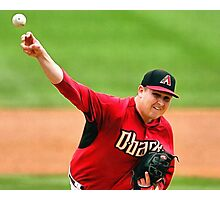 Trevor Cahill Photographic Print