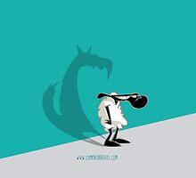 Como Borregos - Lamb & Shadow by kikoperez