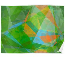 Abstract Polygons 43 Poster