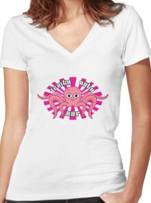 "Fruity Oaty Bar! ""OCTOPUS"" Shirt (Firefly/Serenity) Women's Fitted V-Neck T-Shirt"