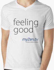 Feeling good - Day Mens V-Neck T-Shirt