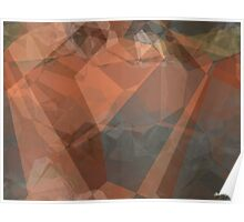 Abstract Polygons 63 Poster