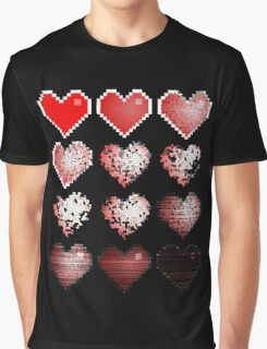 The evolution of love Graphic T-Shirt