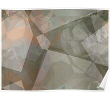 Abstract Polygons 70 Poster