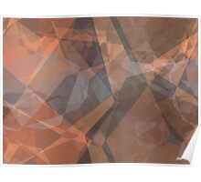 Abstract Polygons 74 Poster