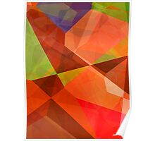 Abstract Polygons 84 Poster