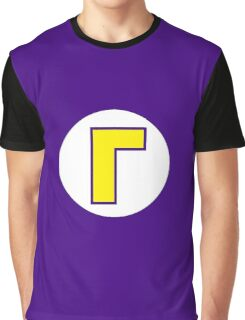Super Mario Waluigi Icon Graphic T-Shirt