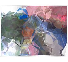 Abstract Polygons 87 Poster